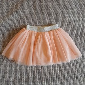 George baby peach color skirt